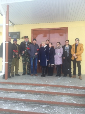 Феодосийские школьники встретились с воинами-афганцами