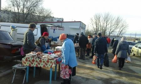 В Приморском прошла очередная ярмарка