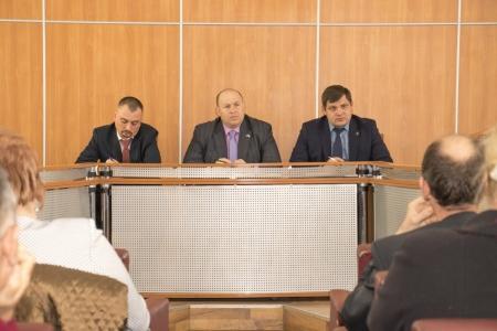 В Феодосии состоялась встреча представителей Администрации с предпринимателями