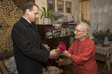 В Феодосии поздравили ветеранов Великой Отечественной войны