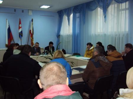 В Орджоникидзе прошла встреча с предпринимателями