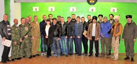 Команда Администрации города Феодосии заняла первое место по стрельбе из пневматической винтовки