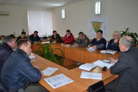 В селе Насыпное обсудили вопросы размещения НТО
