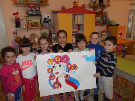 В Щебетовке прошло мероприятие для малышей, посвященное «Крымской весне»