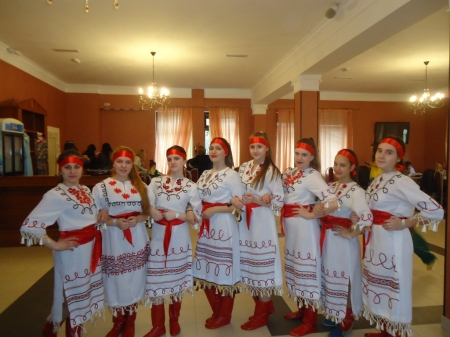 Вокальный ансамбль «Глория» на Международном конкурсе «Поющая волна»