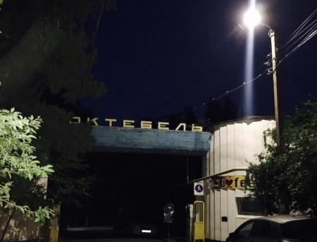 В Коктебеле восстановили уличное освещение