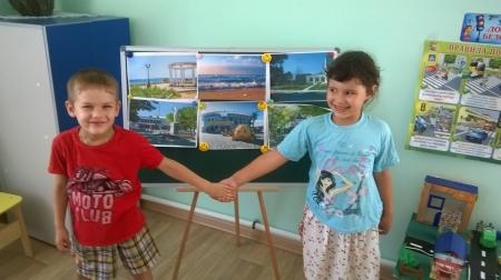 Береговое: детский сад в День села
