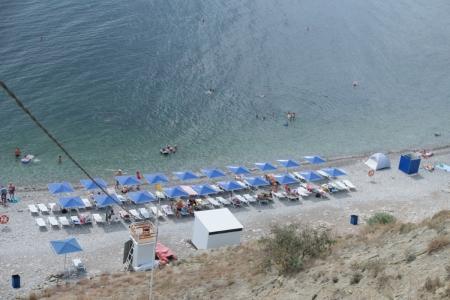 Пляжи Орджоникидзе находятся в удовлетворительном состоянии