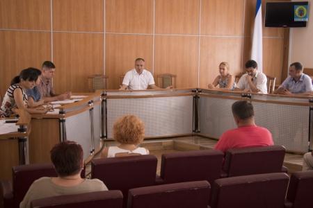 В Администрации Феодосии прошло очередное заседание Межведомственной комиссии