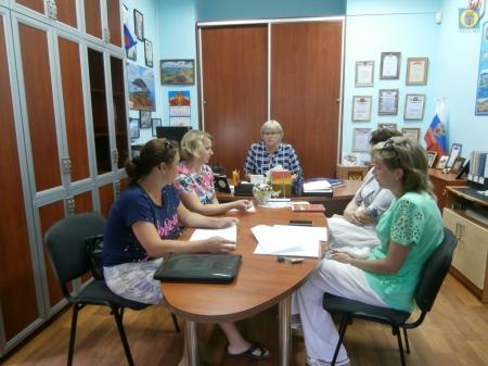 Рабочее совещание в Орджоникидзе