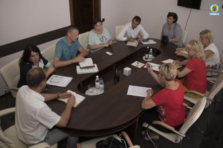 В Администрации Феодосии прошла рабочая встреча с Уполномоченным по правам ребенка Республики Крым