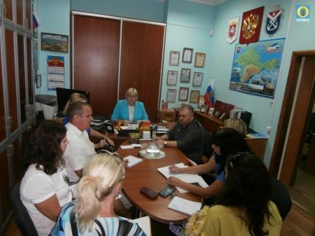 В Орджоникидзе состоялось аппаратное совещание