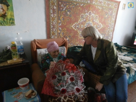 В Орджоникидзе поздравили юбиляра