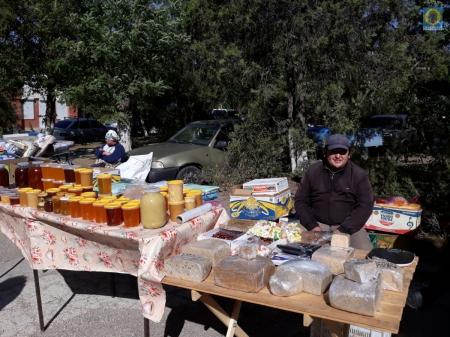В Орджоникидзе состоялась ярмарка
