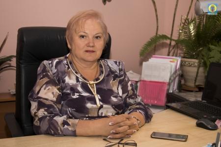 Поздравление начальника Управления образования Надежды Алексеенко с Днем учителя