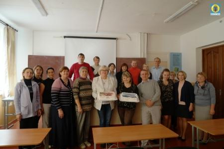 Глава Орджоникидзевской поселковой администрации поздравила учителей