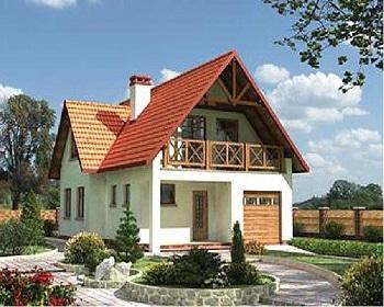 Строительство Т-образной крыши дома.