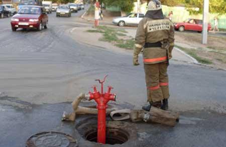 Две трети уличных пожарных гидрантов феодосийского поселка Щебетовка находятся в неисправном состоянии