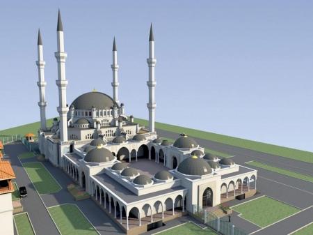 Строительно-монтажные работы по возведению Соборной мечети Крыма начнутся в пятницу
