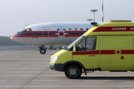 Спецборт МЧС вылетел в Санкт-Петербург из Симферополя с двумя тяжелобольными младенцами