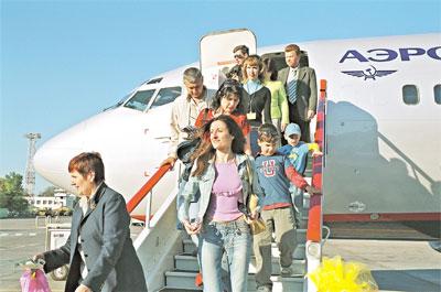 Число авиапассажиров в Крыму в майские праздники увеличилось на 10%