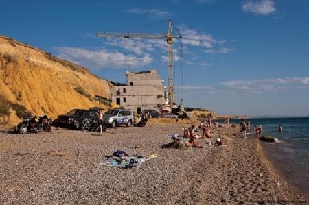 Глава Крыма выступил за запрет строительства в стометровой прибрежной зоне