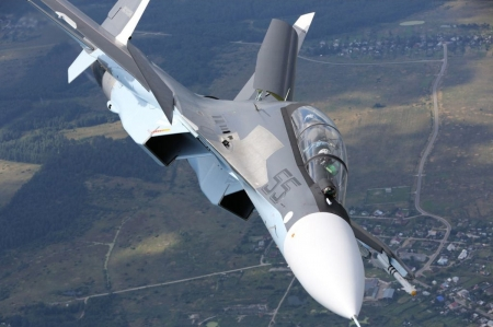 Масштабные лётно-тактические учения авиации Южного военного округа начались в Крыму