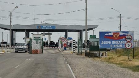 Перестрелка на границе Крыма с Украиной