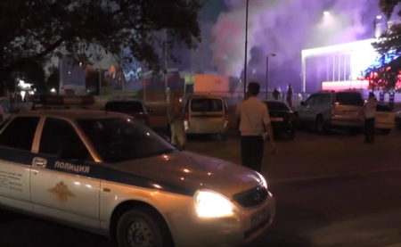 Возгорание генератора произошло под конец концерта на площади Симферополя