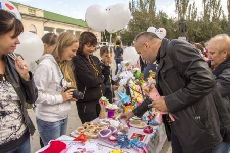 Во время благотворительной акции больным детям феодосийского округа пожертвовали более 70 тысяч рублей