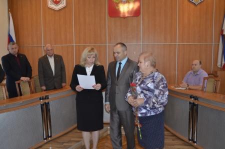 В Феодосии наградили отличившихся граждан