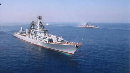 Фрегат ВМС Пакистана и корабли ЧФ проводят совместное учение в Чёрном море