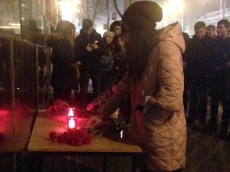 Ялтинцы почтили память погибших в результате крушения самолета Ту-154 над Черным морем