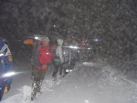 Спасатели за прошедшие сутки оказали помощь пятерым туристам в Крымских горах