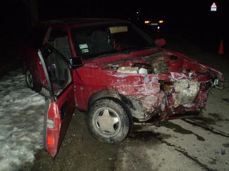 В Феодосии водитель восьмерки снес ограждение
