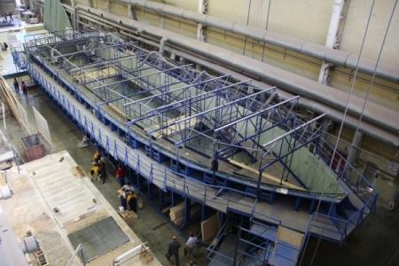 Феодосийский завод «Море» приступил к строительству нового судна
