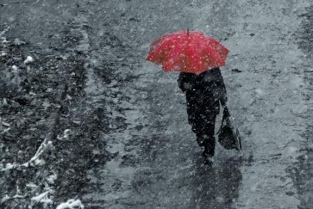 В субботу в Крыму до 10 градусов мороза, мокрый снег