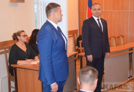 В Феодосии задержан за взятку начальник управления городского хозяйства Тютрин А.В.