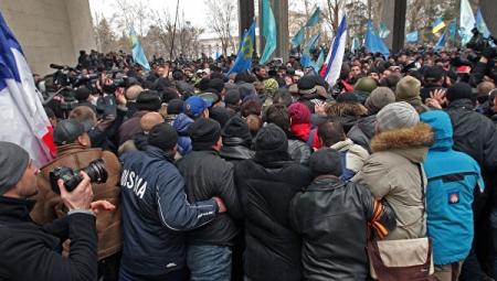 Аксёнов дал показания в суде по делу о массовых беспорядках, произошедших под крымским парламентом 26 февраля 2014 года