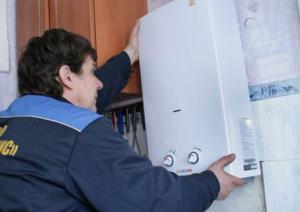 В Феодосии жильцы дома на Крымской протестуют против отключения газовых колонок
