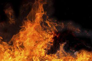 Пожар в Коктебеле