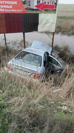 В Феодосии в пятницу, 17 марта, днём на Керченском шоссе, у поворота на Владиславовку произошло дорожно-транспортное происшествие