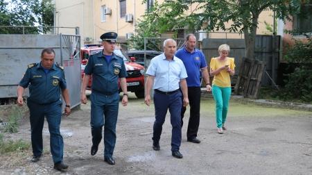 В Феодосии рассматривают вопрос размещения подразделения специального отряда ГУ МЧС